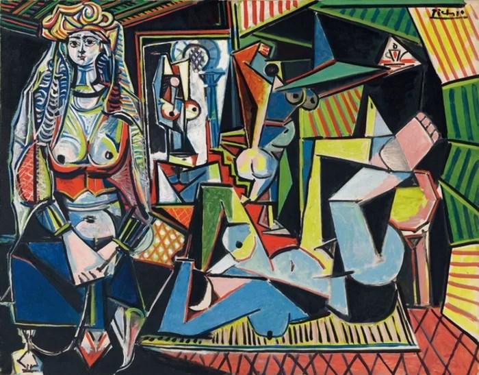 «Алжирские женщины (Версия O)», Пабло Пикассо