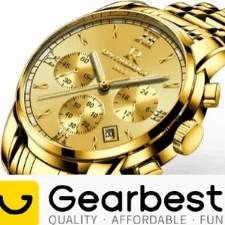 gear best часы золотые