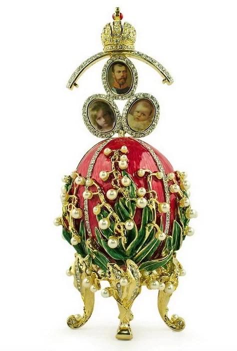 Ландыши, яйцо Карла Фаберже, 1898