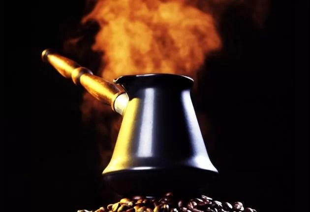 о кофе полезные советы - турка