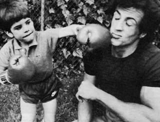 Silverst Stallone i syn igrayut
