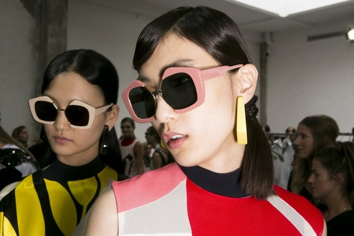3. geometric γυαλιά ηλίου