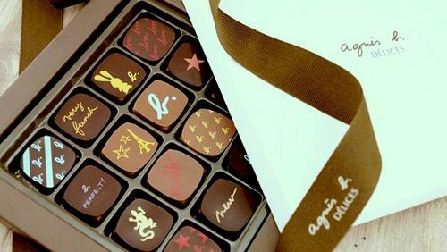 agnès b. DÉLICES Chocolate Shops in Hong Kong - SHOPSinHK