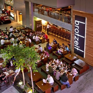Brotzeit German restaurant VivoCity shopping mall Singapore