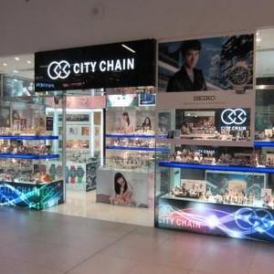 City Chain watch store NEX shopping mall Singapore