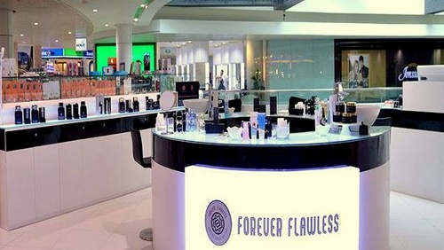 Forever Flawless beauty store at 313@Somerset mall in Singapore.