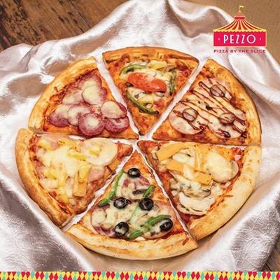 Pezzo Pizza restaurant in Singapore.