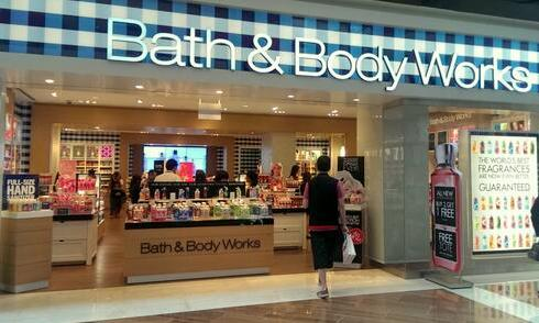 Bath & Body Works Marina Bay Sands Singapore.