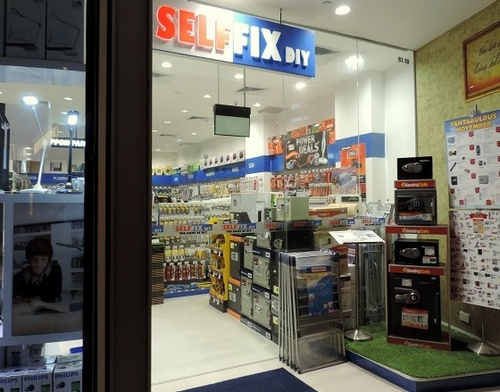 Selffix DIY hardware store at The Star Vista mall in Singapore.