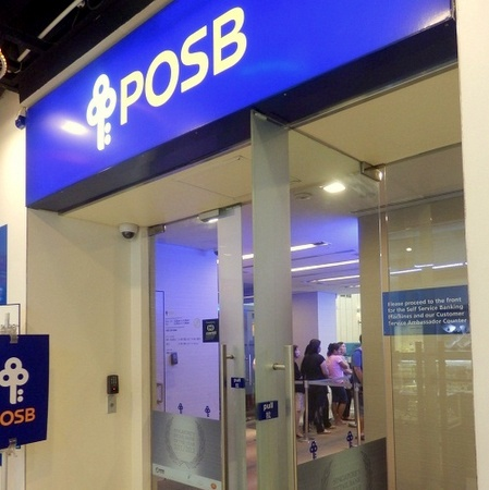POSB Bank branch Square 2.