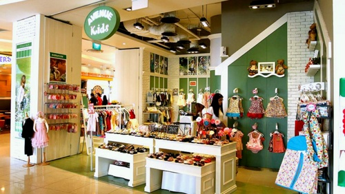 Avenue Kids children's clothing store Singapore.