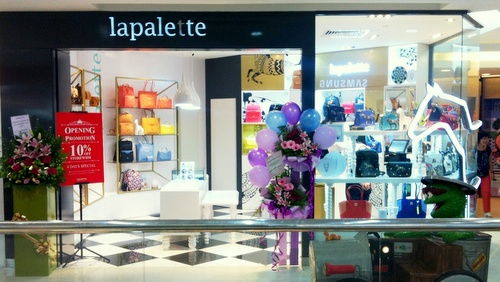 Lapalette bag & accessories shop Tampines Mall Singapore.