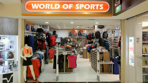 World of Sports Stores in Singapore - SHOPSinSG
