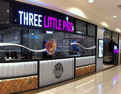 Three Little Pigs Eatery Tiong Bahru Plaza Singapore.