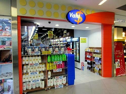 ValuDollar variety store NEX Mall Singapore.
