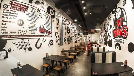 Fatboy's The Burger Bar restaurant Orchard Singapore.