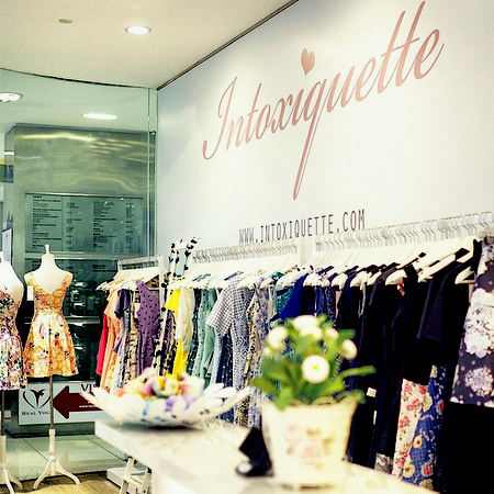 Intoxiquette clothing shop Centrepoint Singapore.