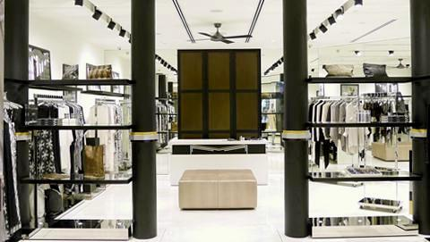 Marie France Van Damme clothing shop Ngee Ann City Singapore.