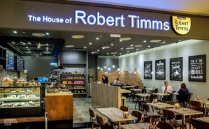 The House of Robert Timms cafe-restaurant Singapore.