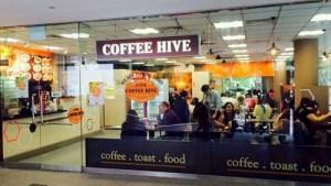 Coffee Hive cafe-restaurant Fuji Xerox Towers Singapore.