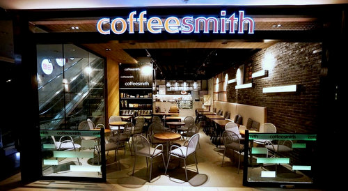 Coffeesmith cafe at Bedok Mall in Singapore.