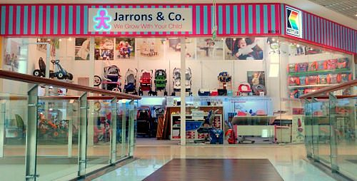 Jarrons & Co. baby products store in Singapore.