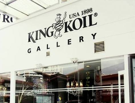 King Koil mattress gallery at Jurong Point East mall in Singapore.