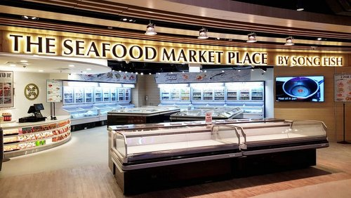 The Seafood Market by Song Fish at Century Square mall in Singapore.
