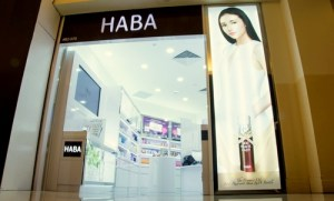 HABA store at Ngee Ann City in Singapore.