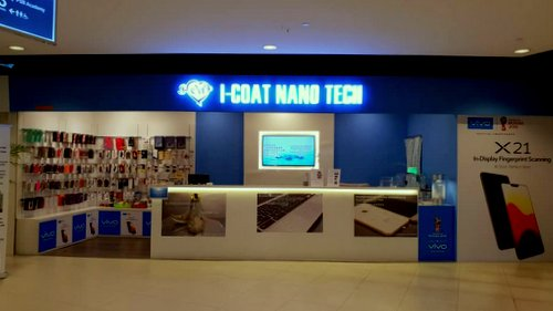 I-Coat Nano Tech store in Singapore.