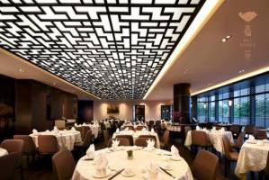Kai Garden Chinese restaurant's interiors at Marina Square mall in Singapore.