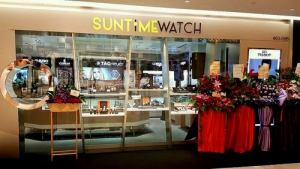 SunTime Watch boutique at Ngee Ann City in Singapore.