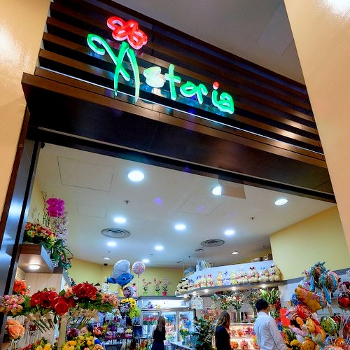 Astoria flower and gift shop at Jurong Point mall in Singapore.