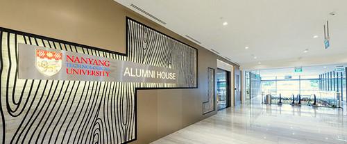 NTU Alumni House at Marina Square shopping centre in Singapore.