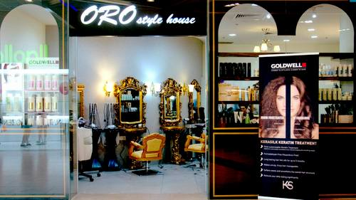 Oro Style House hair salon at Marina Square mall in Singapore.