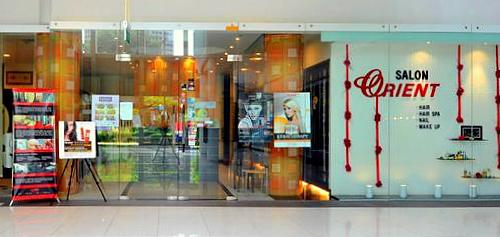 Salon Orient beauty and hair salon at Marina Square mall in Singapore.