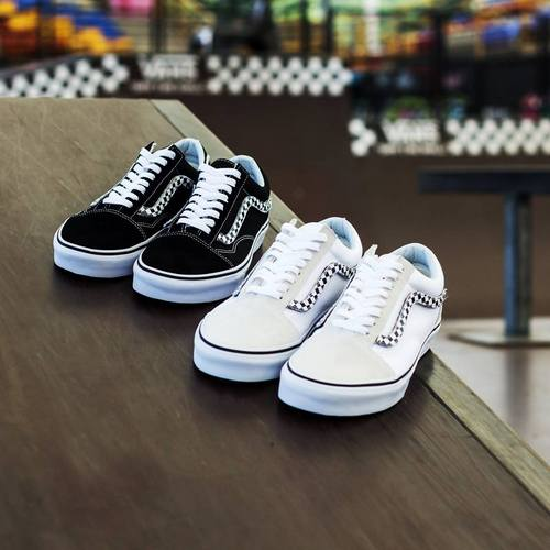 AW LAB store's Vans sneakers, available in Singapore.