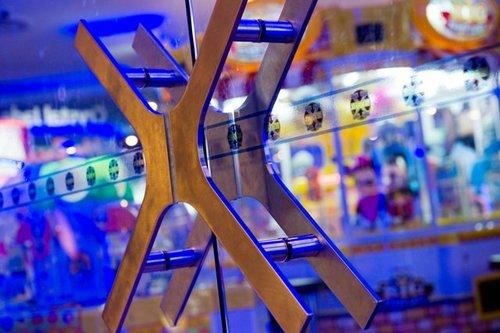 Zone X game arcade in Singapore.