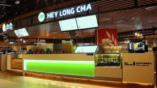 Hey Long Cha tea house in Singapore.