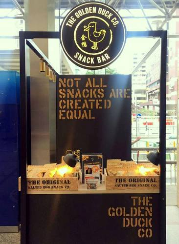 The Golden Duck snack shop at Parkway Parade mall in Singapore.