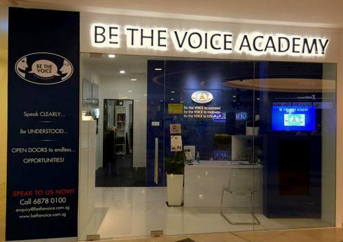 Be The Voice Academy at Alexandra Retail Centre in Singapore.