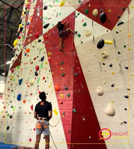 Onsight Climbing Gym in Singapore.