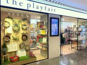 The Playfair store at Suntec City shopping centre in Singapore.