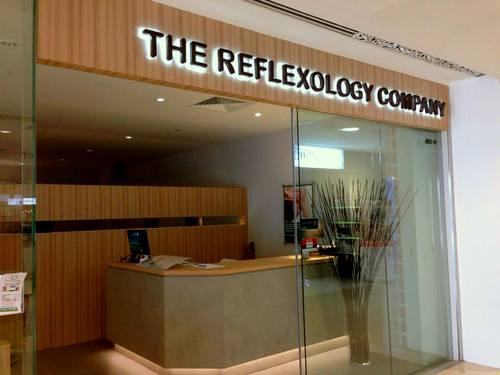 The Reflexology Company salon at Alexandra Retail Centre in Singapore.