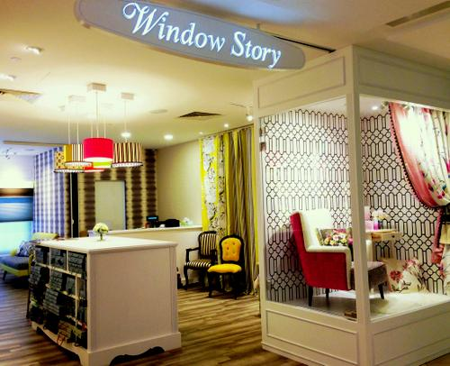 Window Story home furnishing store at 112 Katong shopping centre in Singapore.