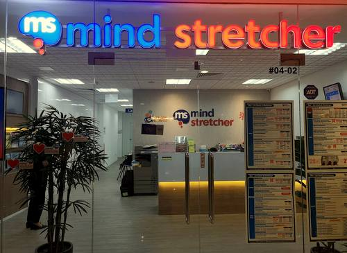 Mind Stretcher Learning Centre at Woodlands Civic Centre in Singapore.