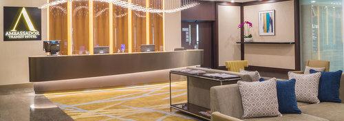 Ambassador Transit Hotel at Changi Airport in Singapore.