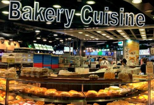 Bakery Cuisine shop at Raffles Exchange in Singapore.