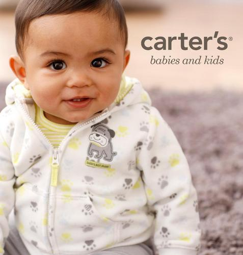 Carter's children's clothing, available in Singapore.