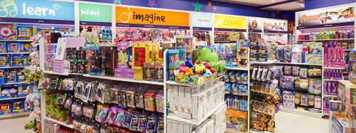 Kaboom store at Changi Airport in Singapore.